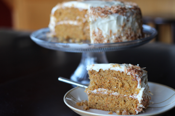 Carrot Cake with Browned Butter Cream Cheese Frosting ...