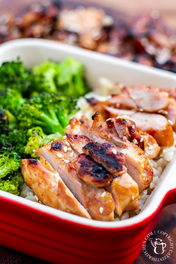 Looking for an incredibly simple weeknight dinner that's tasty, healthy, and pairs with, like, everything? Try this grilled teriyaki chicken!