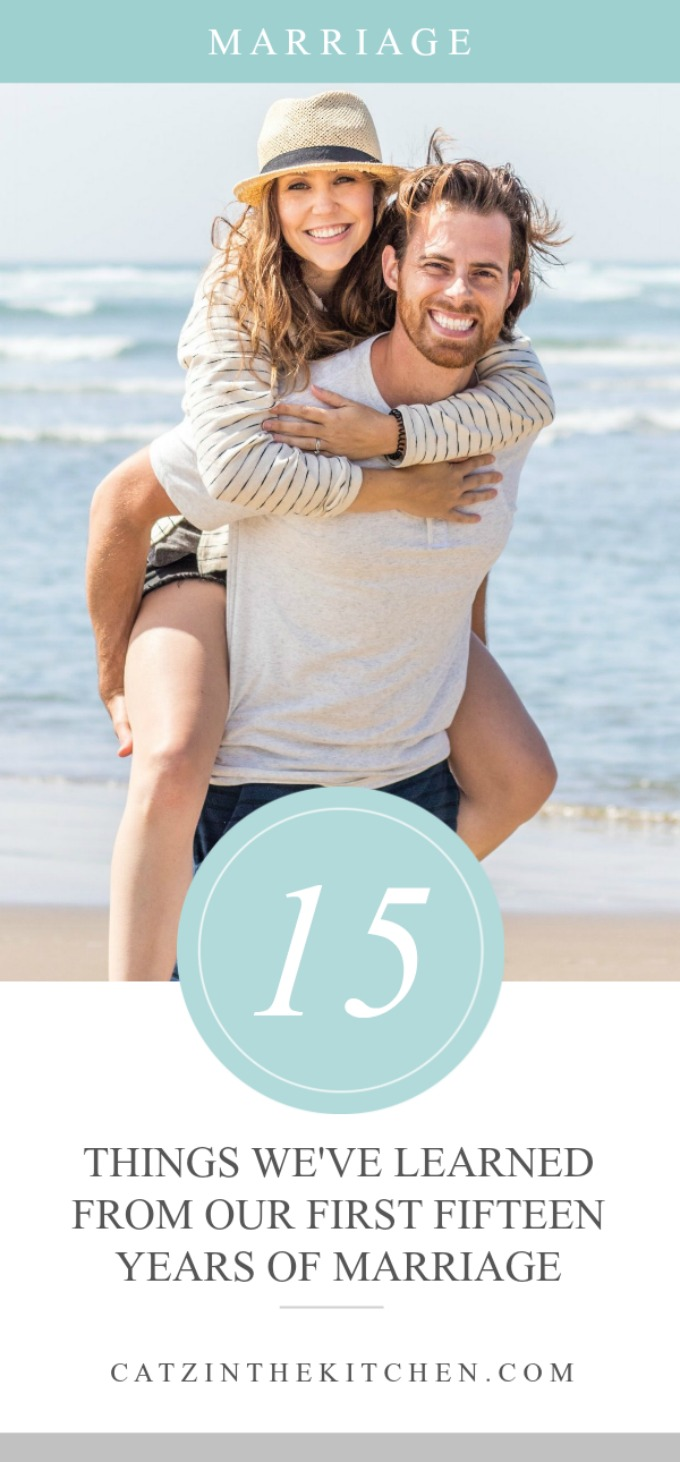 15 Things We've Learned in our First 15 Years of Marriage